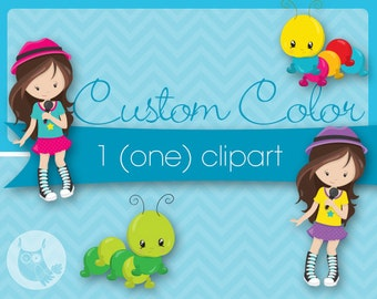 Custom color for 1 (one) none exclusive clipart, custom color for purchased clipart, recolour, Prettygrafik