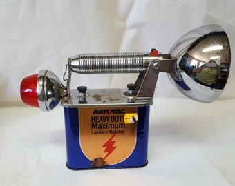 Rayovac 9V sports lantern, flashlight from the 1950's or 1960's