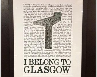 i belong to Glasgow