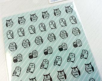 Lovely Owl Sticker  - 1 Sheet