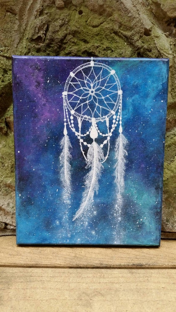 Dreamcatcher Painting Space Painting Hippie Painting Free