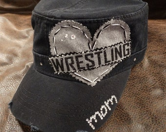 wrestling mom sport LOVE Cadet Hat
