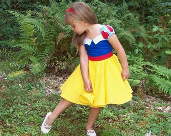 Snow white's dress