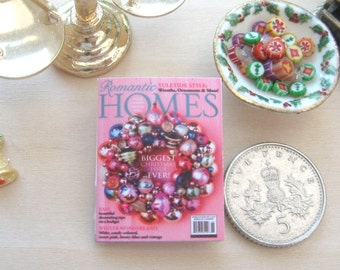 dollhouse christmas magazine 12th scale miniature journal