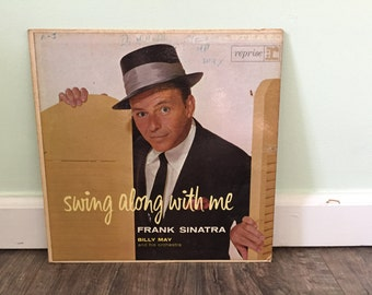 """Frank Sinatra """"Swing Along With Me"""" vinyl record"""