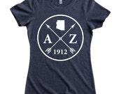 Homeland Tees Arizona Arrow Women's T-Shirt