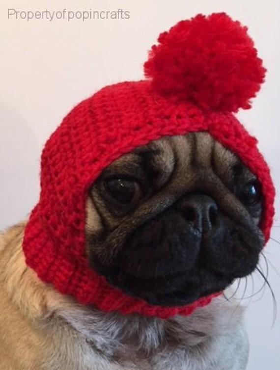 Pug Hat Pug Balaclava Pug Bobble Hat Pet Clothes Dog
