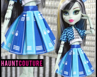 """Monster Doll Haunt Couture """"Locker Skirt"""" high fashion outfit piece"""