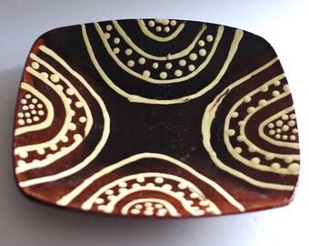 Vintage Studio Pottery Dish 2