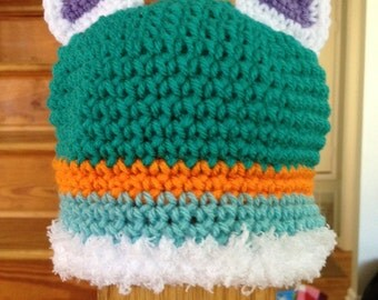 Crocheted toddler paw patrol Everest Inspired Hat