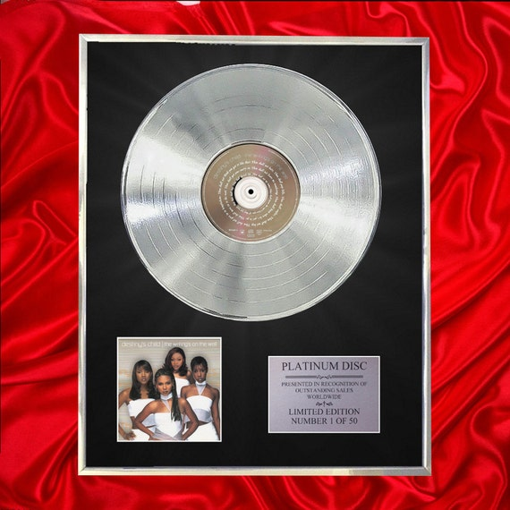 Destiny S Child The Writing S On The Wall Cd Platinum