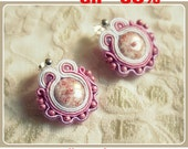 small soutache earrings,  wedding, spring - one pair to choose