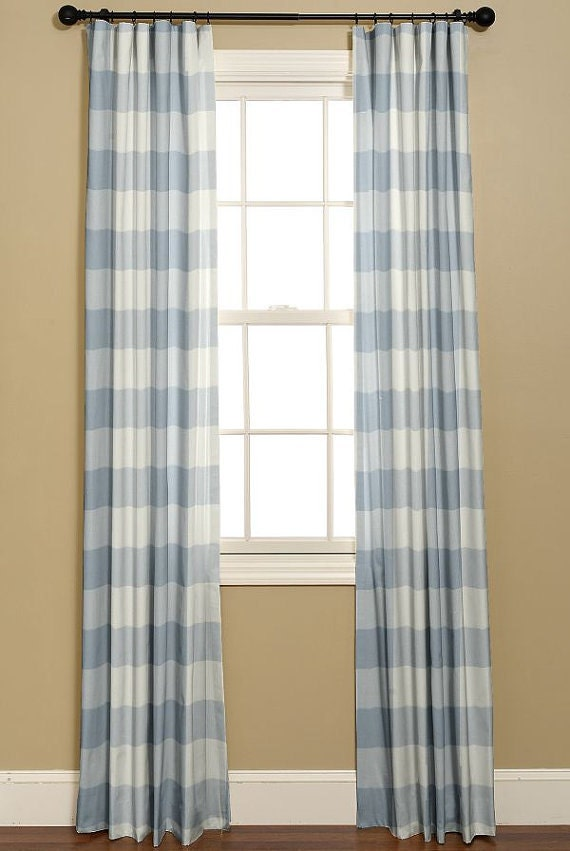 Buffalo Check Blue Berry Curtains 2 Panels Of By
