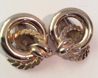 Coro clip on earrings 1 in