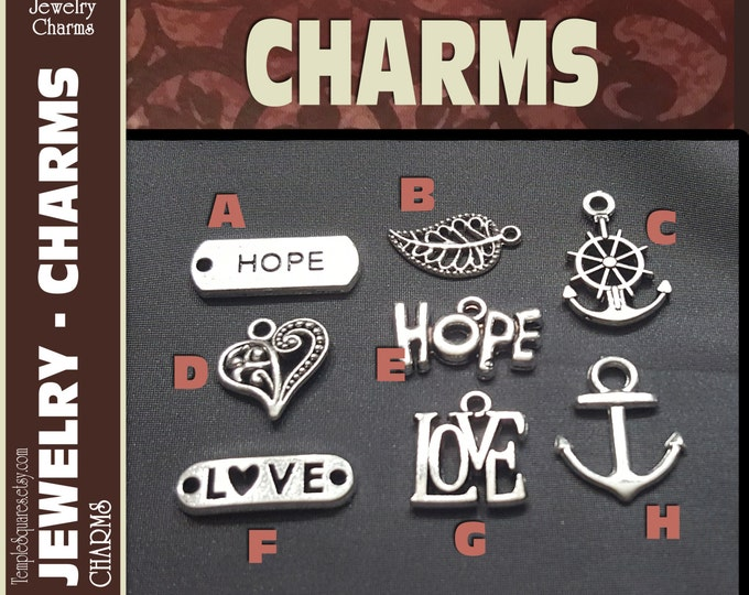 Ask of God Ask in Faith Pack of 10 Silver Charms for DIY Jewelry Craft Supplies for LDS or gifts, pendants, bracelets.  YW 2017 Mutual Theme