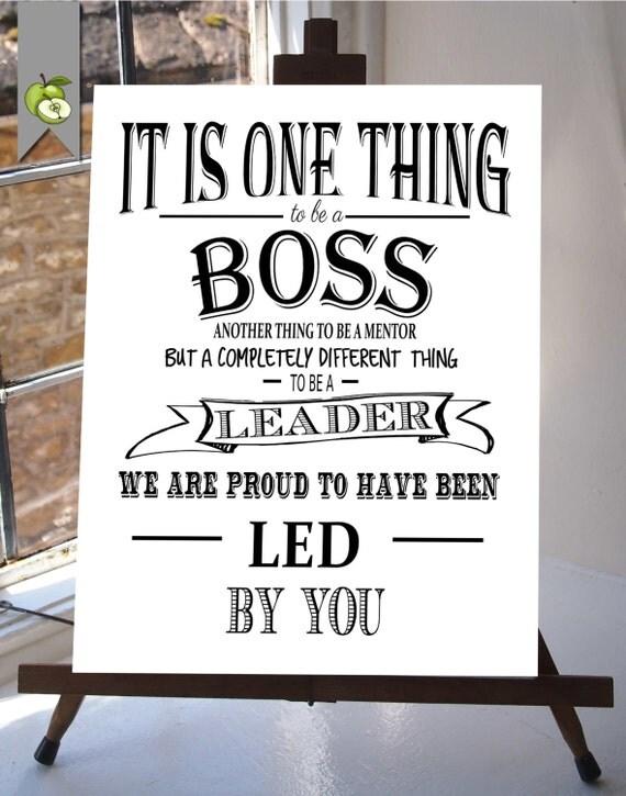 Boss appreciation day Boss week boss card boss gift thank