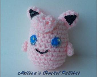 Crochet Pattern - Jigglypuff - Pokemon
