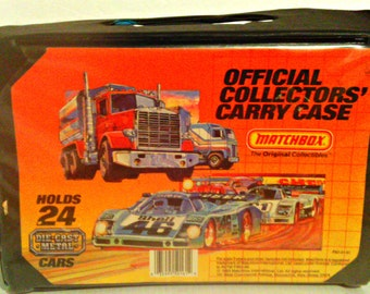 Matchbox Toy Collectors Carry / Storage Case   Tara Toy Car   Truck Carry  Cases
