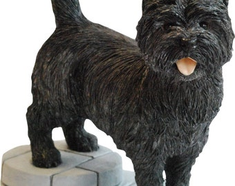 Cairn Terrier Figurine Ornament Gift Special Offer Available in Black Grey Wheaton/Tan