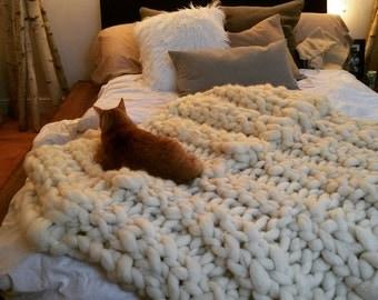 Jumbo Knit Throw... //Coming Soon//