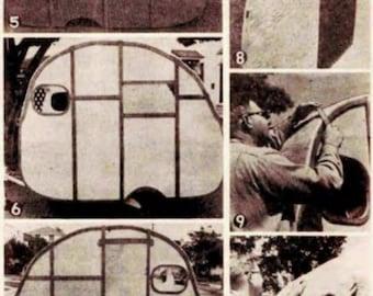 Teardrop Trailer Plans Vintage