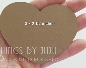 Bucket List Cards Large Kraft Heart 100 Wish Tree Advice For Mom Die Cut Heart Wedding Place Card 3 Inch Paper Hearts Wedding Shower(3x2.5)