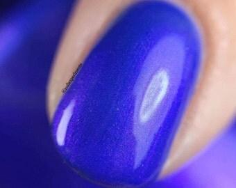 Shimmer nail polish - serenity Large bottle  -  Handmade - polish  - Vegan