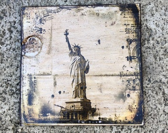 Statue of Liberty- 5x5 in.