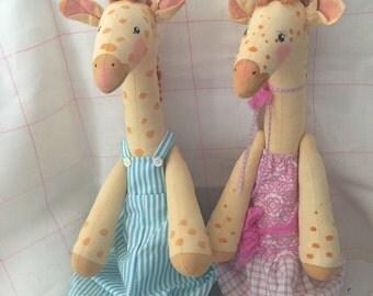Large Giraffe Set