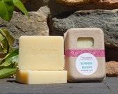 Summer Bloom Soap - Citrus Soap - Floral Soap - Handmade Soap - Homemade Soap - Cold Process Soap - Gift for Mom - Vegan Soap -