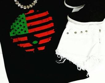 Afro Flag Tee