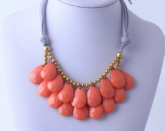Beautiful Coral Necklace That Makes a Statement