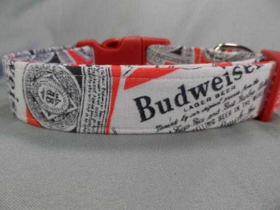 Budweiser Dog Collar