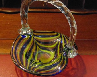 Murano Glass Basket