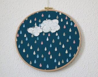 Rainfall -Serie Ilustratextil-