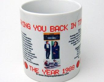 1988 Taking You Back In Time Coffee Mug