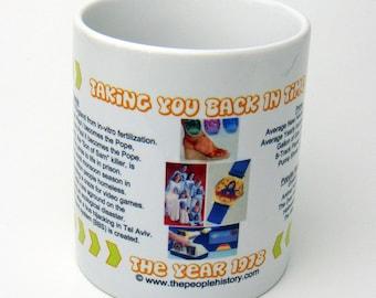 1978 Taking You Back In Time Coffee Mug