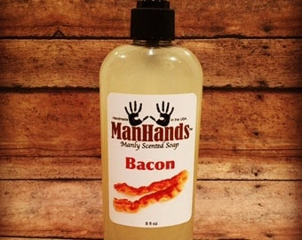 Bacon Liquid Scented Soap 8oz.