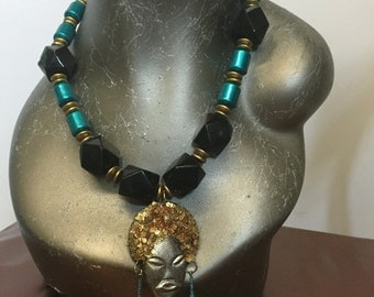Tribal Queen Beaded Necklace