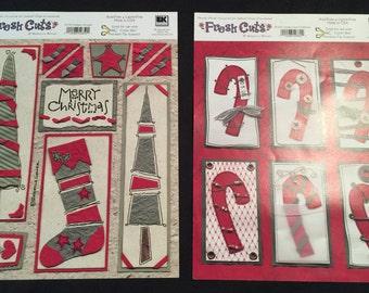 Christmas Fresh Cuts by EK Success Die Cuts 0235