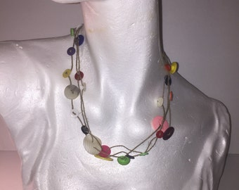 Buttons of Joy Necklace