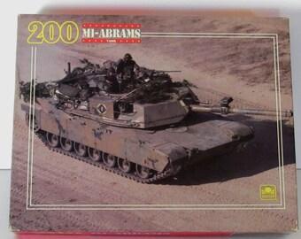 M1-Abrams Tank Puzzle