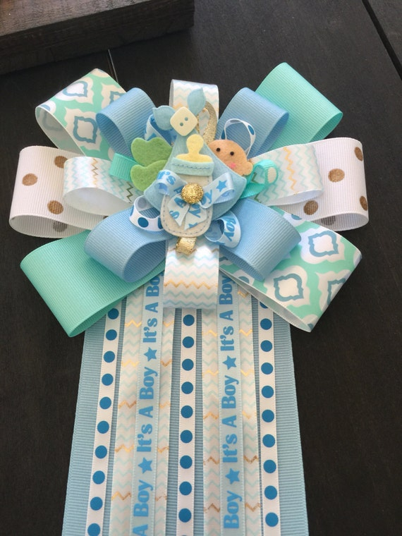 boy baby shower mum corsage for baby shower mum for mom to be baby