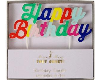 Happy Birthday Candle - Meri Meri