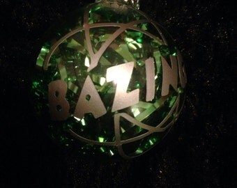 Big Bang Theory, Bazinga! Inspired Ornament