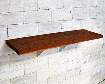Reclaimed Redwood Shelf