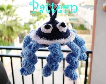 Amigurumi octopus pattern , crochet pattern,DIY project pattern,