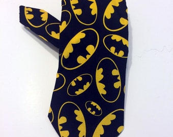 Batman Necktie Bat Symbol