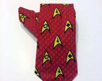 Star Trek necktie, red