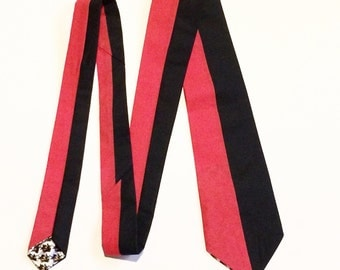 Deadpool-inspired necktie